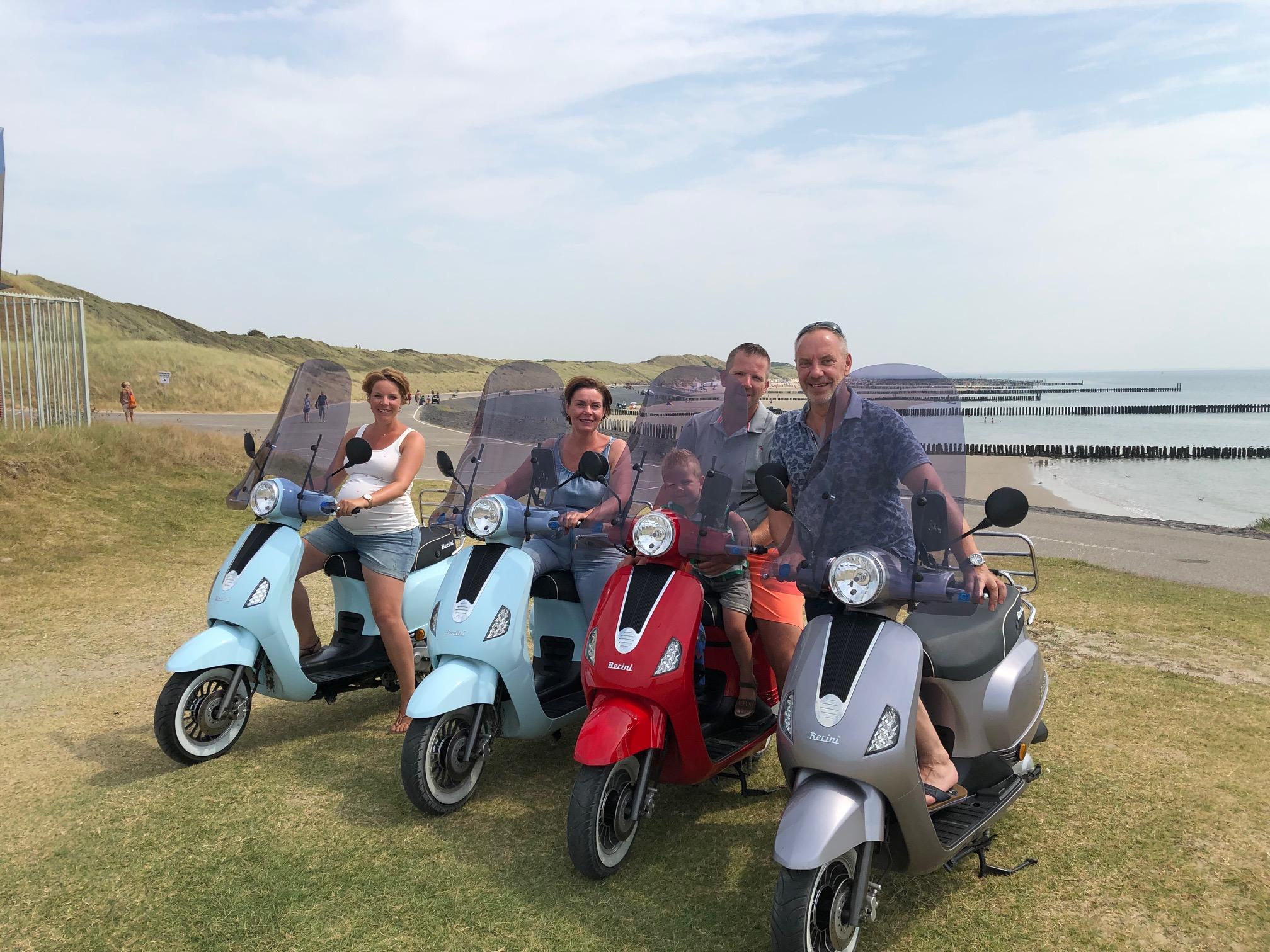 Verhuurscooters